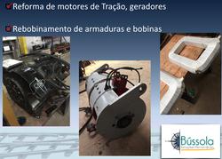 Reforma de motores de tração