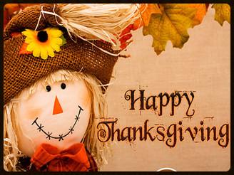 Season of Gratitude: Happy Thanksgiving