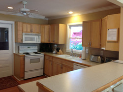 Brown House kitchen