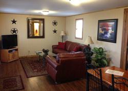 Grey House Living Room