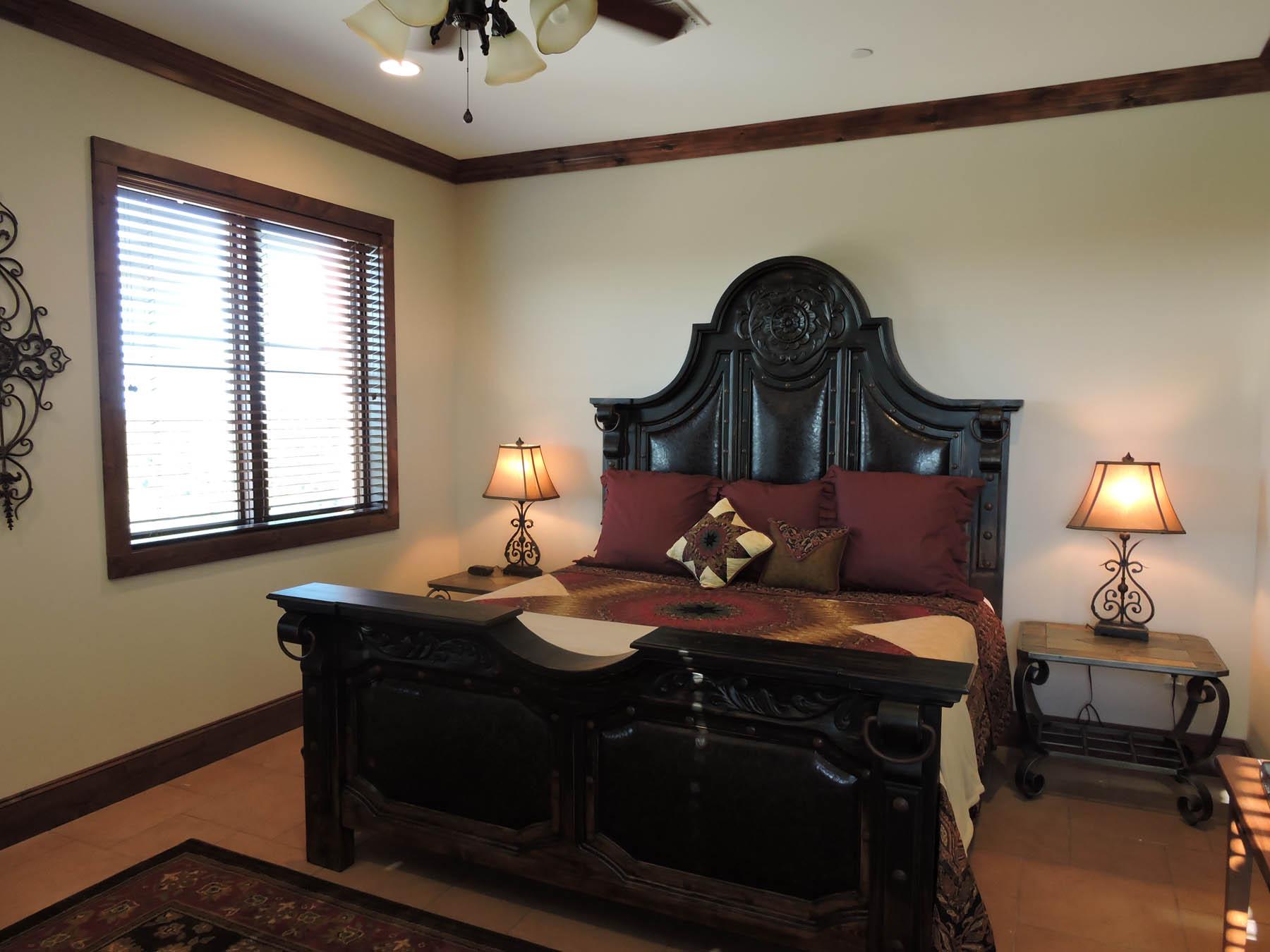 Louis XIV Master Bedroom