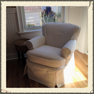 Pre-Shrink Fabric For Best Fit Slipcovers
