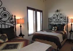 Bedroom in the Joan of Arc Suite