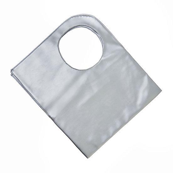 Χειροποίητη Τσάντα SquareO-Silver