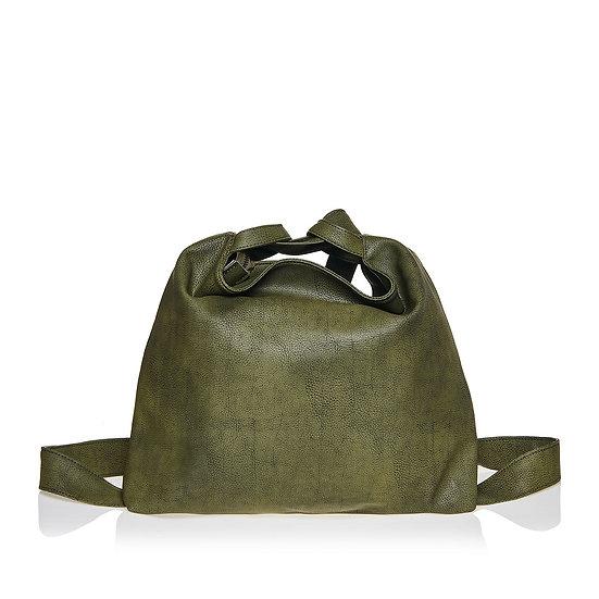 SquareΔ olive green τσάντα