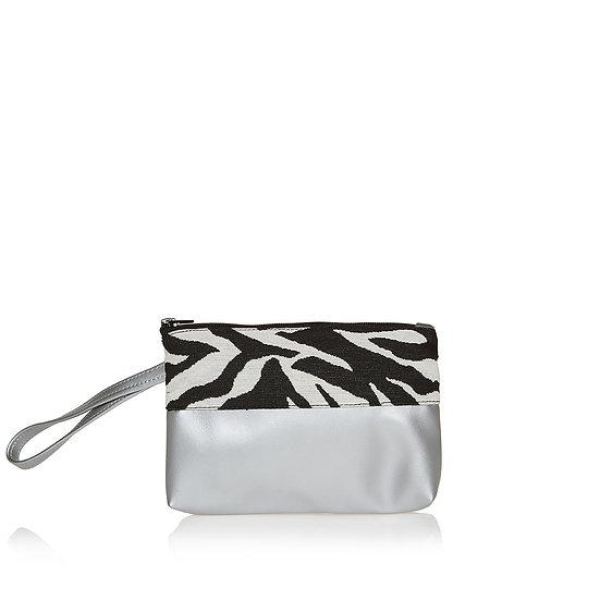 SquarelittleW zebra τσαντάκι