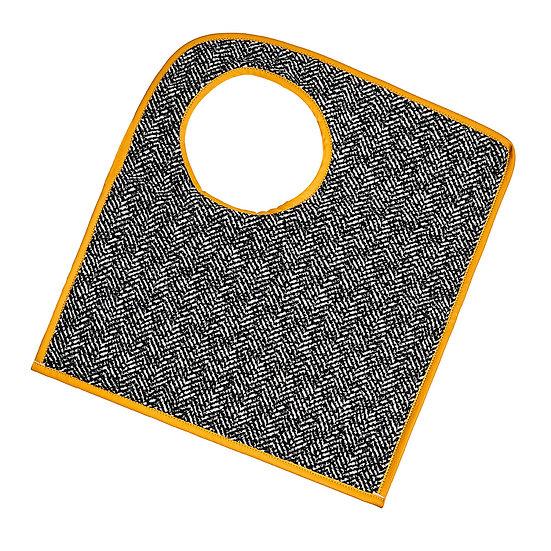 SquareO κίτρινη fishbone τσάντα