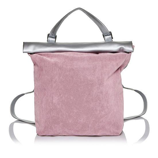Χειροποίητη Τσάντα SquareR-Dirty Pink