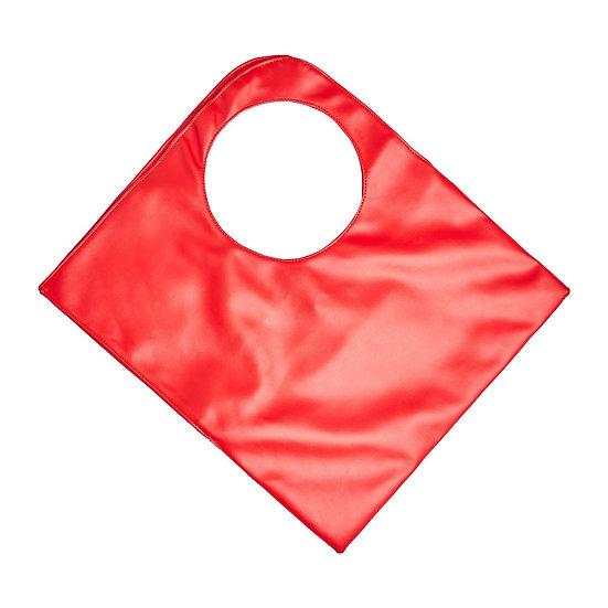 Χειροποίητη Τσάντα SquareO-Red