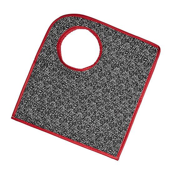 SquareO red fishbone τσάντα