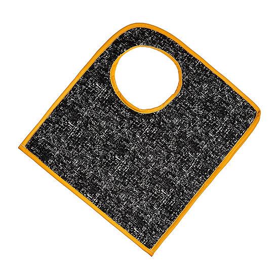 SquareO yellow tweed τσάντα