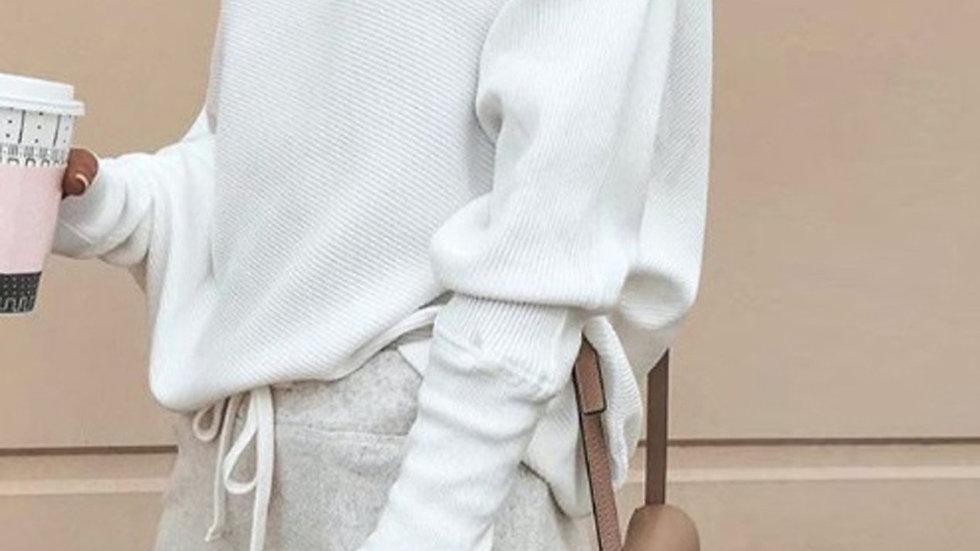 OFF THE SHOULDER ADC SLOUCH TOP