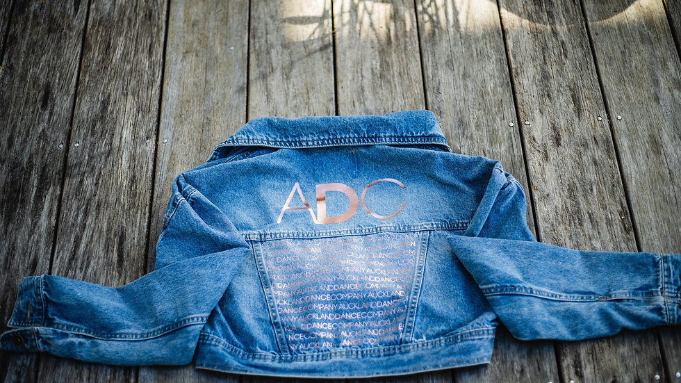 ADC CROPPED DENIM JACKET