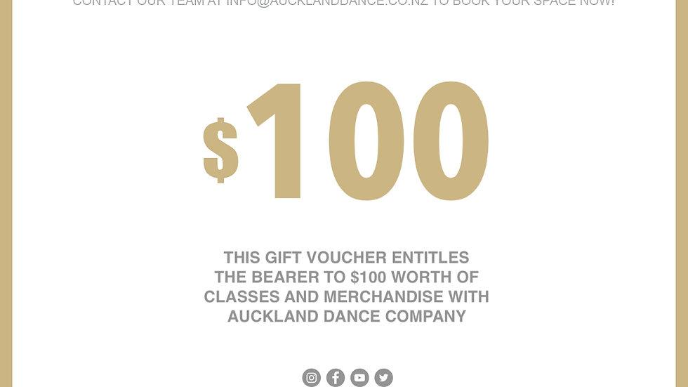 ADC $100 GIFT VOUCHER