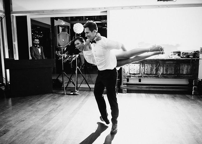 catherine and pater wedding dance auckla