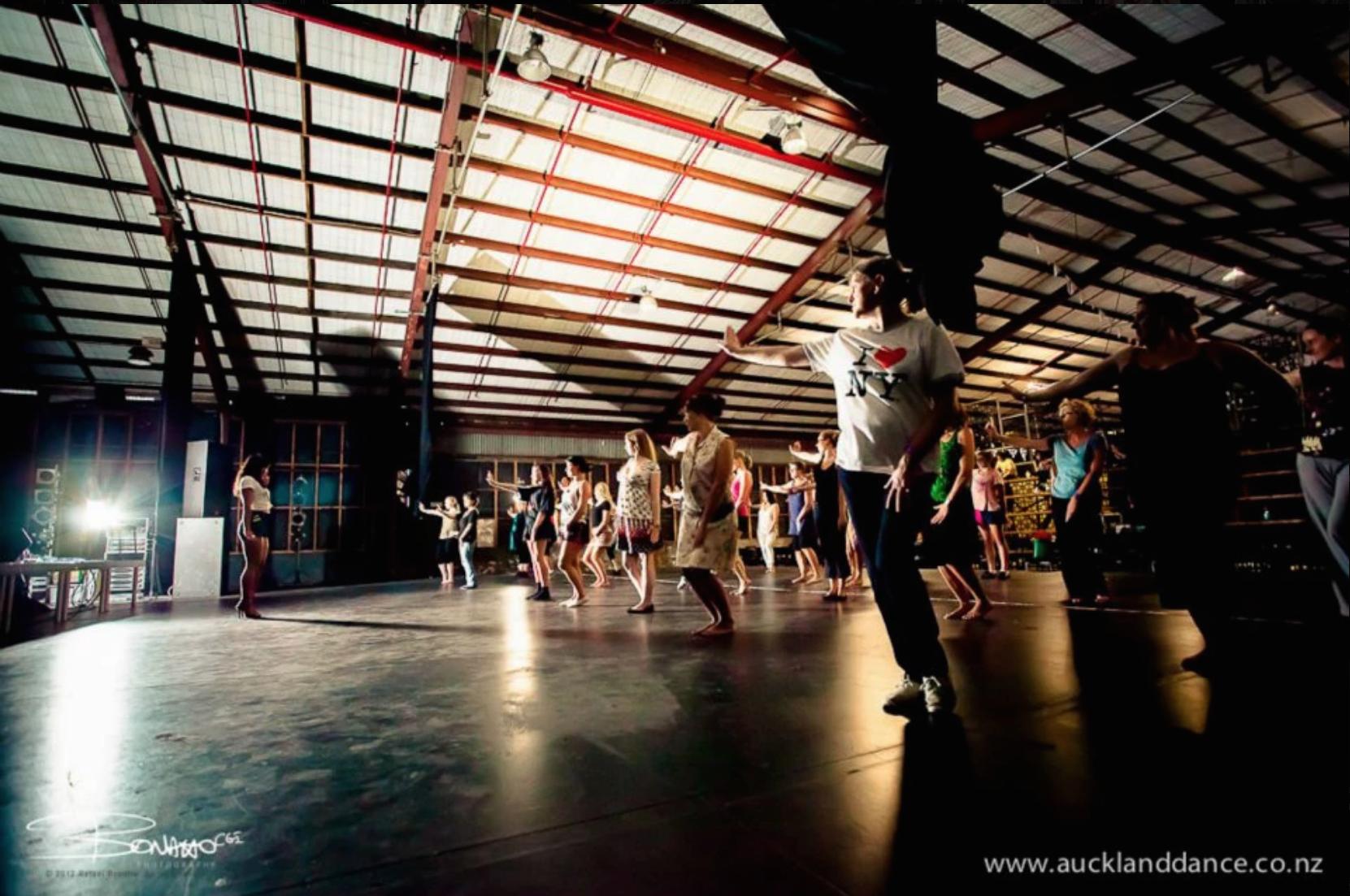Auckland Dance Company - Dance Workshops