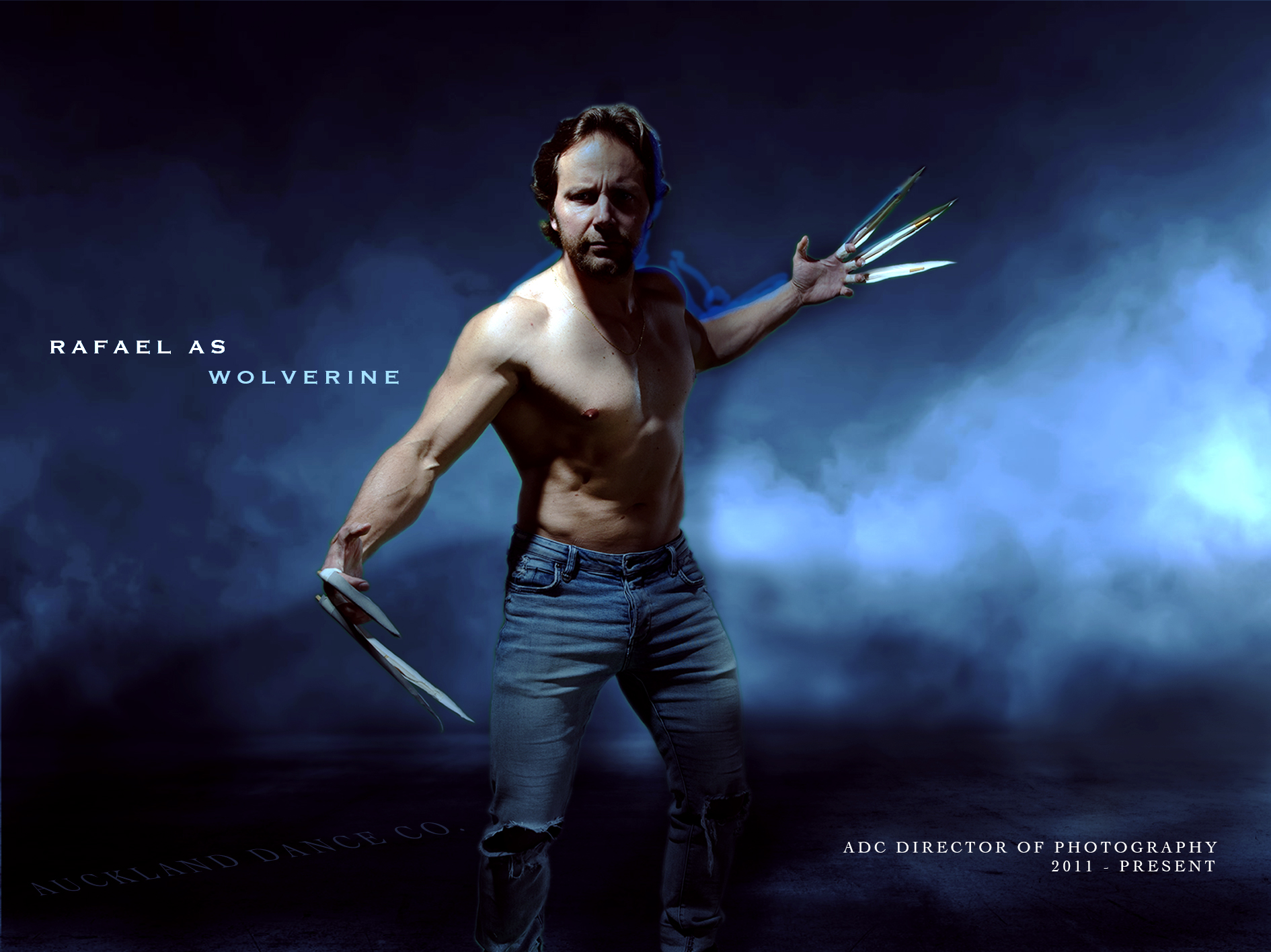 RAFAEL (ADC D.O.P) as WOLVERINE