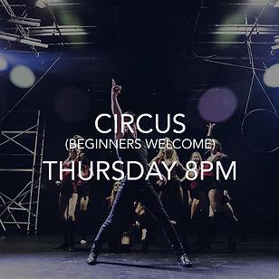 CIRCUS auckland dance company beginners