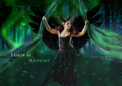 LAUREN (ADC Accounts) as MALIFICENT