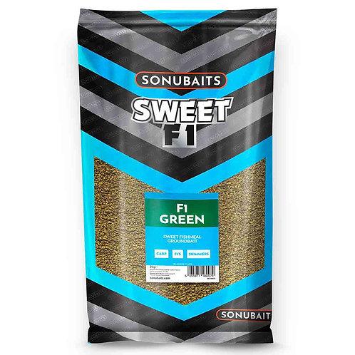 SONUBAITS SWEET F1 GREEN GROUNDBAIT
