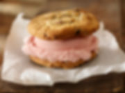 Homemade Ice Cream Cookie Sandwich San Diego CrunchTime