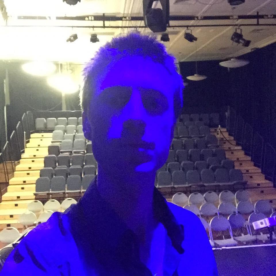 Perth purple lighting