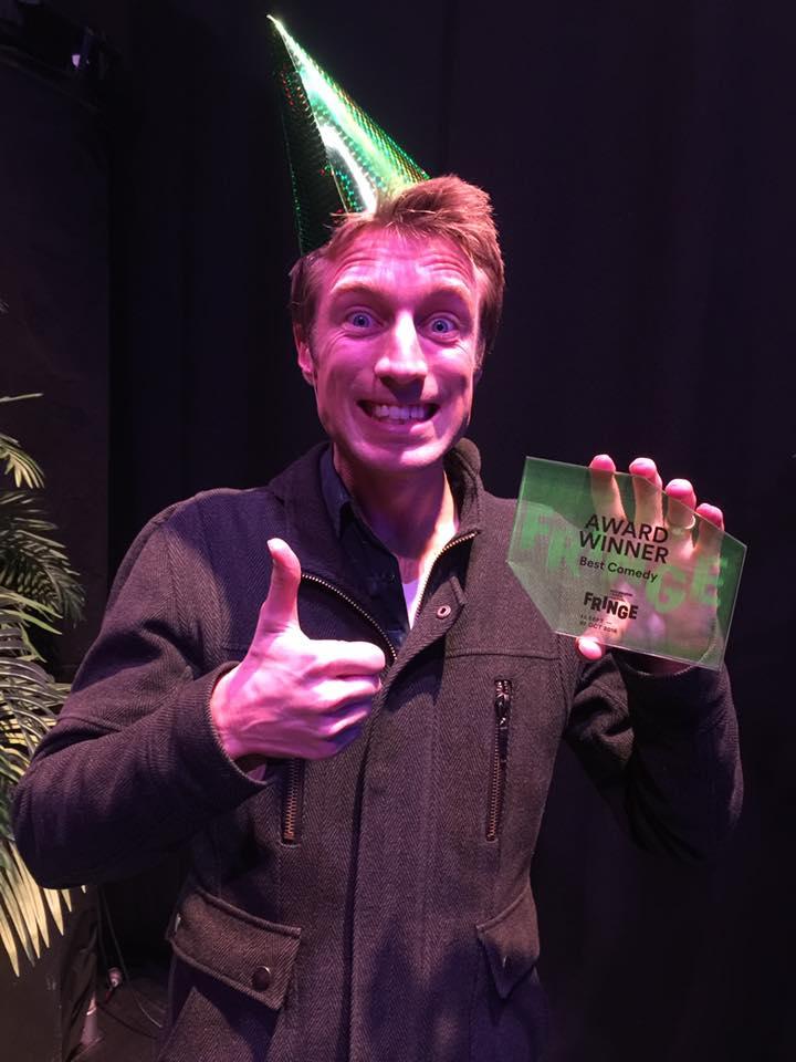 Melbourne Fringe Best Comedy award