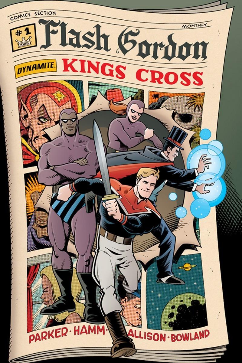 Cover for Flash Gordon #1