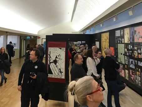 Wilson McCoy's Fantomen Exhibit in Sweden