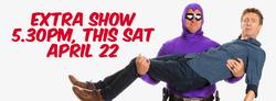 Extra show - Melbourne