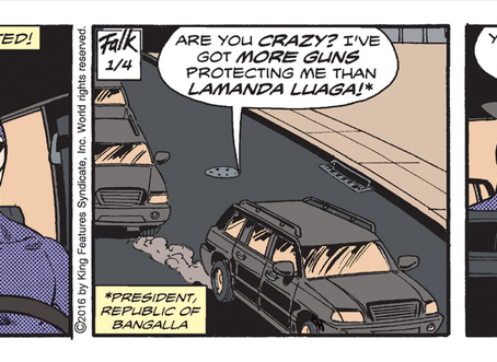 Tony DePaul Leaves The Phantom