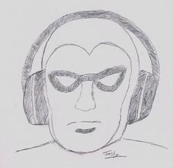 X-Band Fan Art by Jush Turnbull