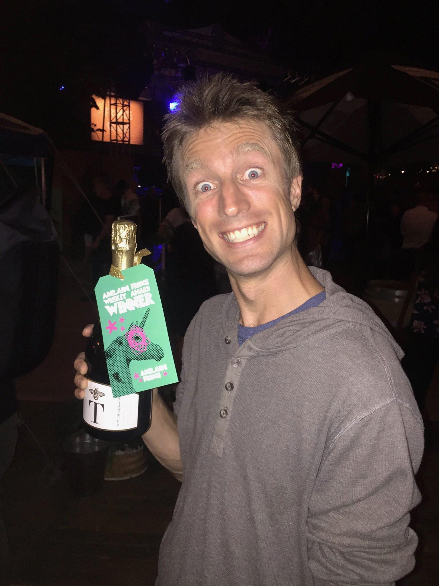 Adelaide Fringe - week 1 Best Comedy award
