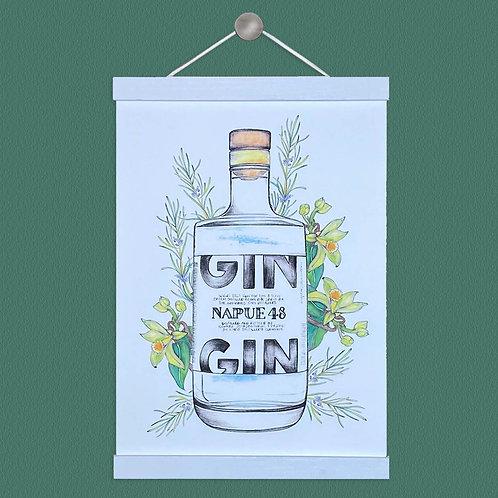 Napue 48 Gin Illustration