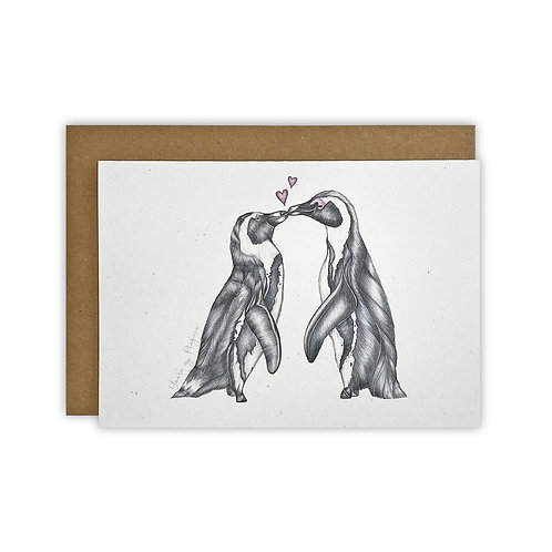 'You're my Penguin' Card