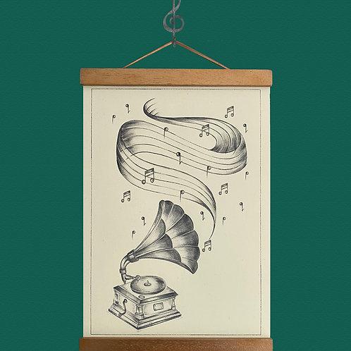Gramophone Print