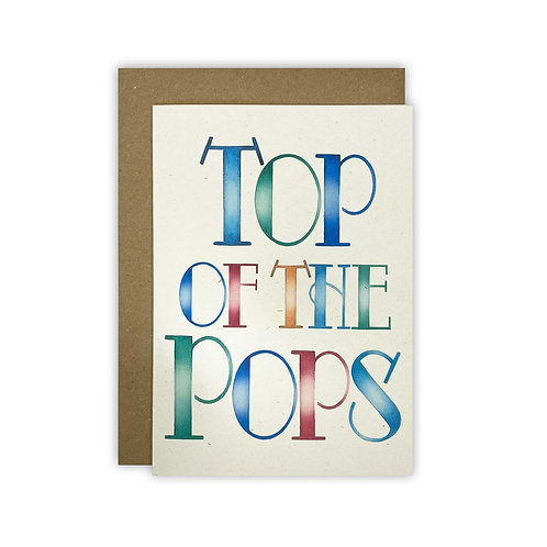 Top Of The Pops' Fathers Day Card
