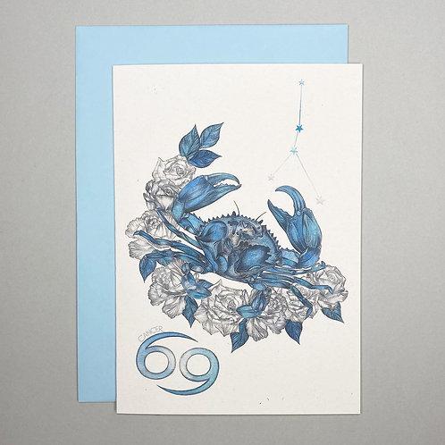 Cancer Zodiac Card