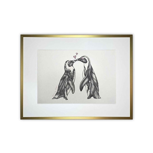 'You're My Penguin' Print