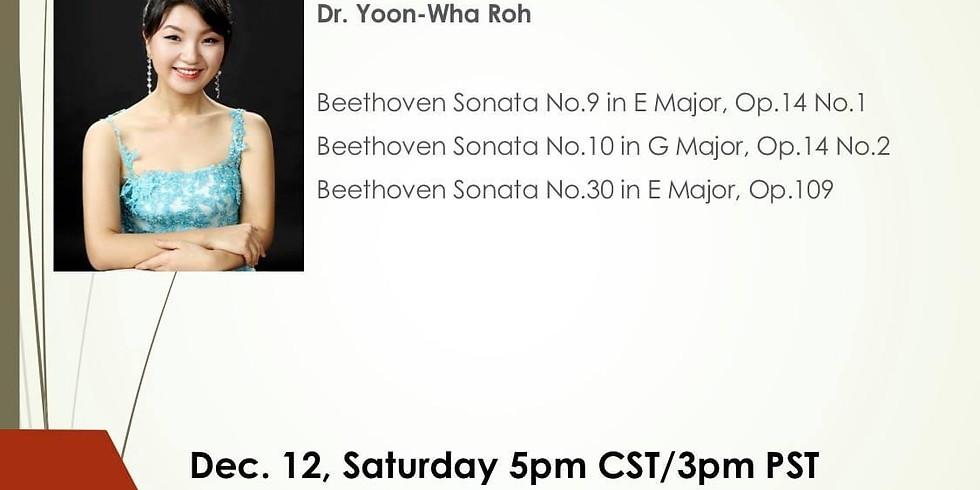 Beethoven Piano Sonatas - Online live-streaming