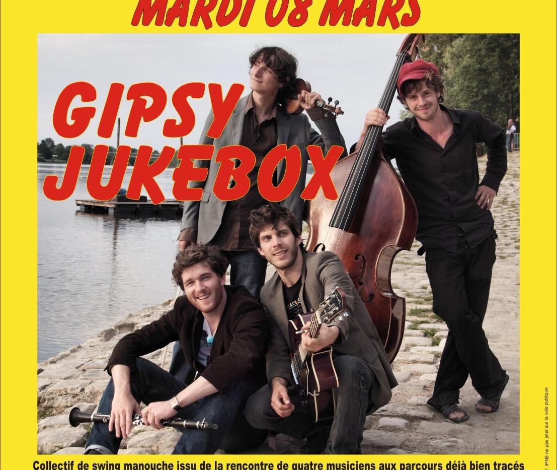 jazz au Blanc - Gibsy Jukebox - mardi 8