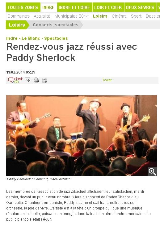 Paddy Sherlock