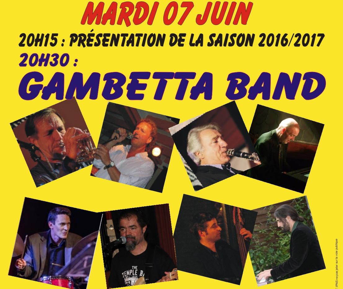 Jazz au Blanc - Gambetta Band - mardi 7