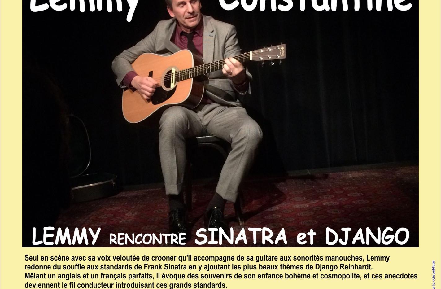 Lemmy Constantine- mardi 2 octobre - Jaz