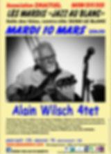 Jazz au Blanc - mardi 10 mars - Alain Wi