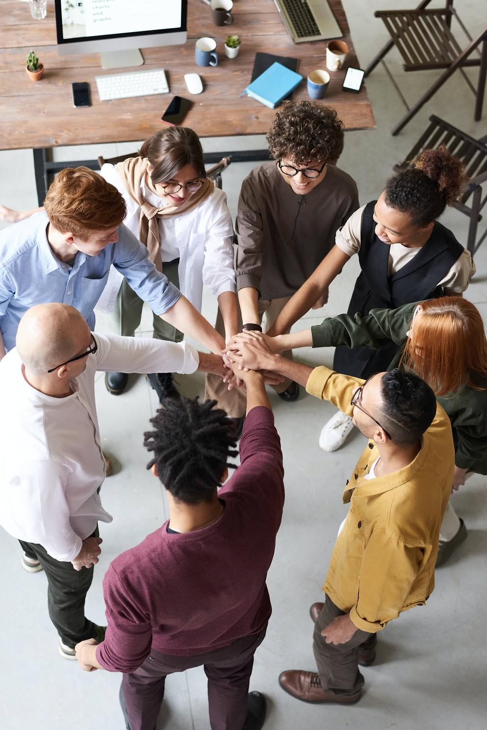 Cohésion d'équipe pour un travail plus efficace