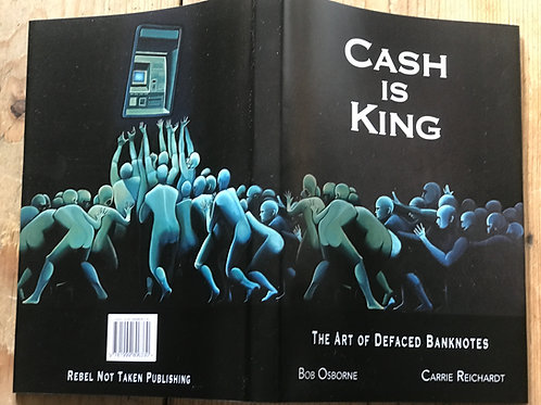 'Mammom'-Pete Dunne defaced Cash is King dustjackets