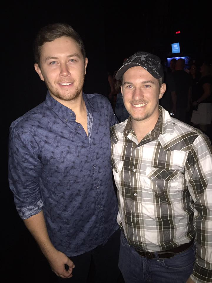 Scotty McCreery at Grand Ole Opry