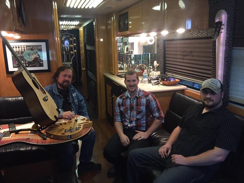 Gibson Tour Bus