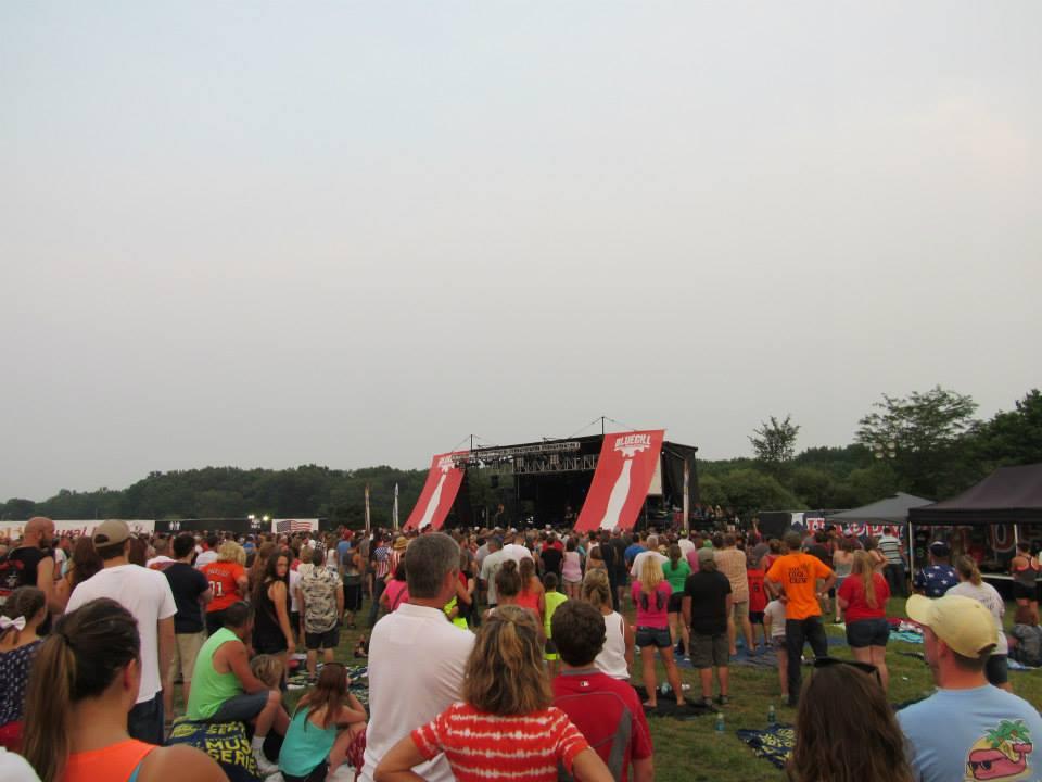 Playing at Bluegill Festival